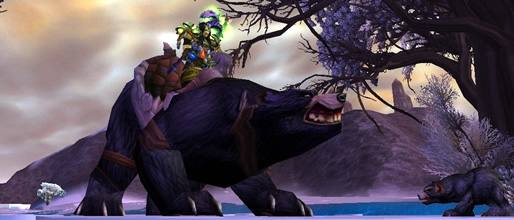Big Battle Bear WoW Mount
