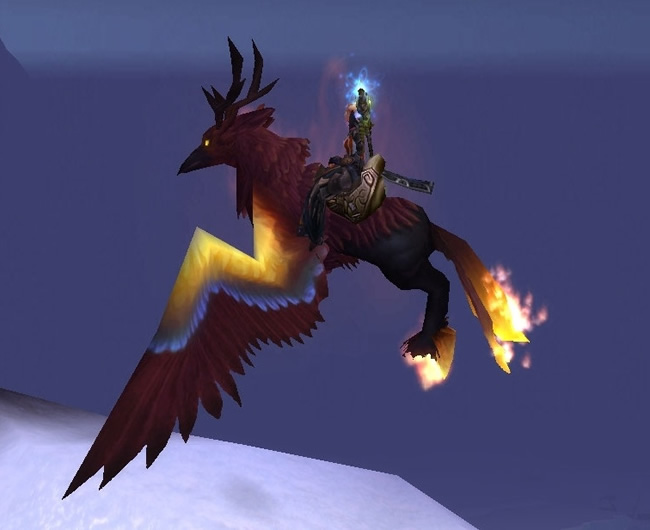 WoW Blazing Hippogryph Mount