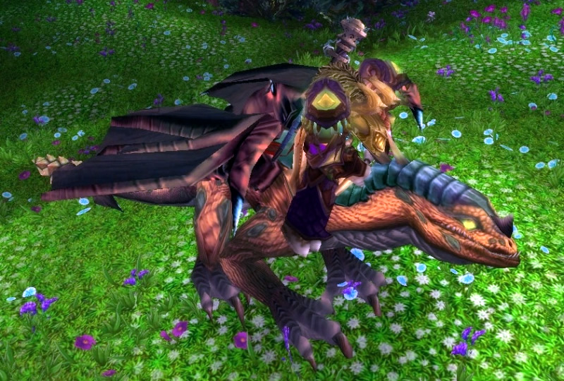 Mottled Drake WoW Mount