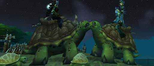 Riding Turtle WoW TCG Loot