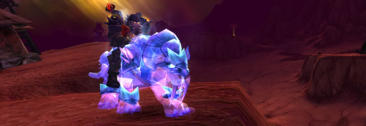 Spectral Tiger | WoW TCG Archives | Fires of Outland | Landro's Gift