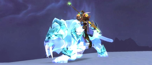 Spectral Tiger and Swift Spectral Tiger WoW TCG Mount Loot