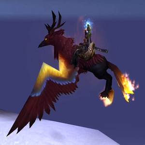 Blazing Hippogryph WoW Mount