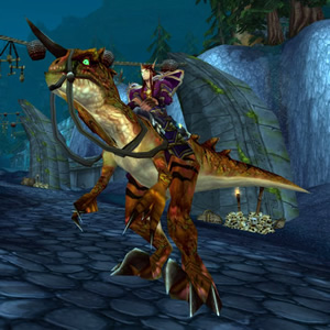 Savage Raptor WoW Mount