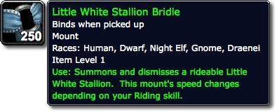 Little White Stallion Bridle