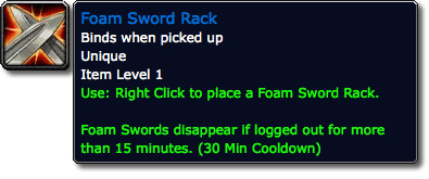 Foam Sword Rack Tooltip