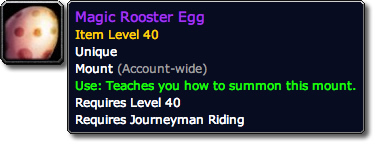 Magic Rooster Egg Tooltip