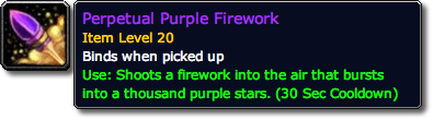 Perpetual Purple Firework