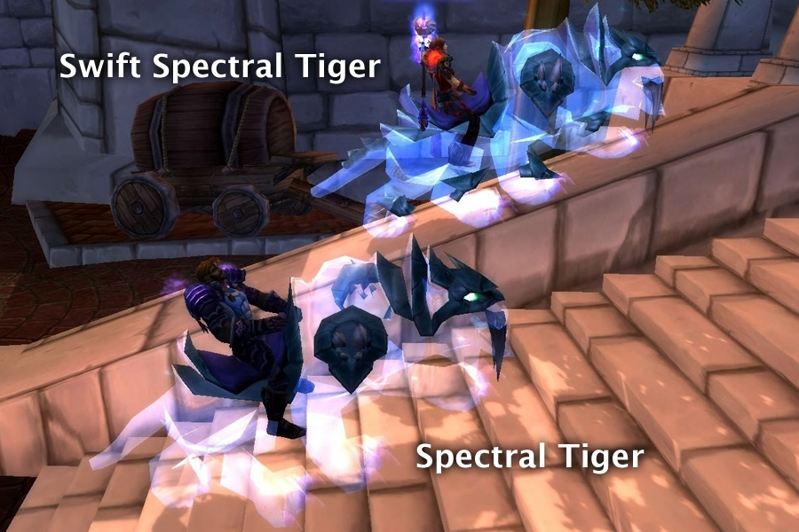 Swift Spectral Tiger vs Spectral Tiger
