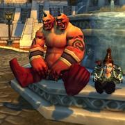 WoW TCG Loot Magical Ogre Idol
