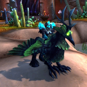 WoW TCG Mount Corrupted Hippogryph