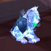 Spectral Tiger Cub Pet from the Spectral Kitten WoW TCG Loot Card