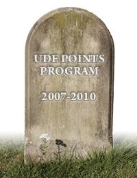 RIP WoW TCG UDE Points Program