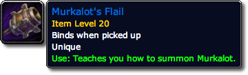 Murkalot BlizzCon Loot Tooltip