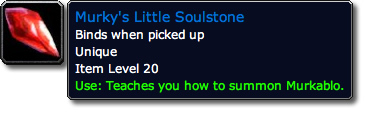 Murky's Little Soulstone Tooltip