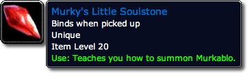 Murky's Little Soulstone Tooltip