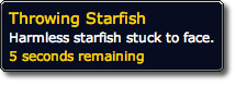 Throwing Starfish Debuff
