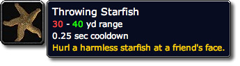 Throwing Starfish Stacks