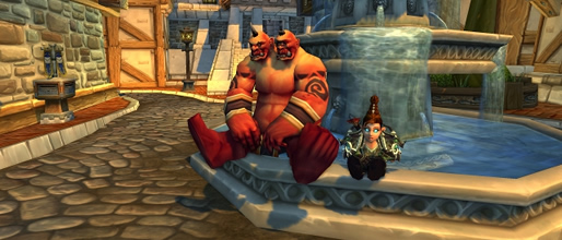 Magical Ogre Idol - Red Ogre Mage Costume