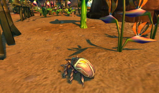 Sand Scarab WoW Pet