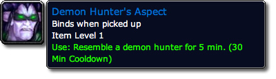 Demon Hunter's Aspect Tooltip