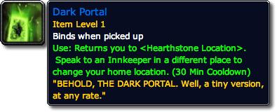 Dark Portal Tooltip