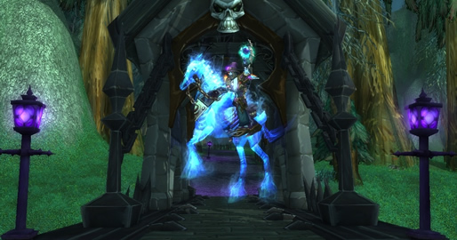 Ghostly Charger WoW Mount