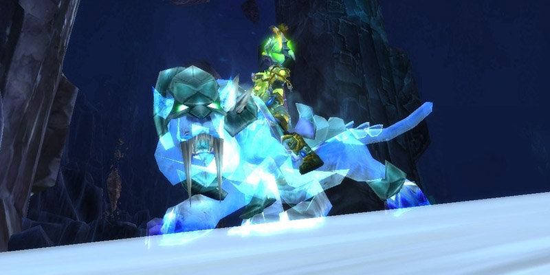 Swift Spectral Tiger WoW TCG Mount
